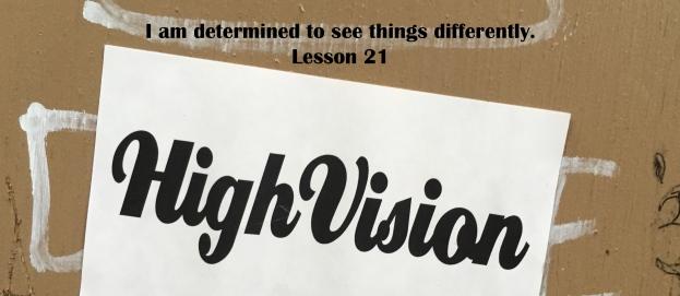 ACIM Lesson 21