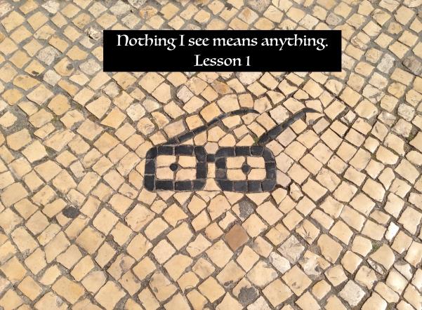 ACIM Lesson 1 Photo