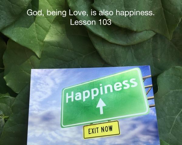 ACIM Lesson 103